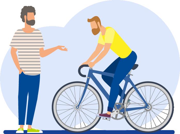 Fahrradhandel Kunden